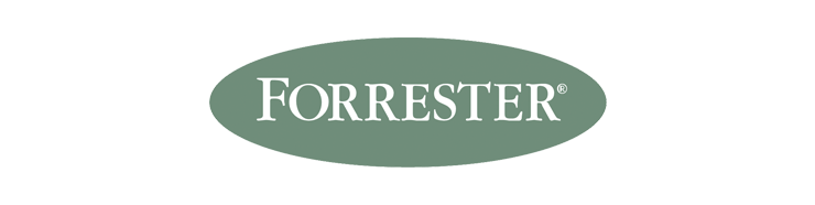 Logo for Forrester ecommerce