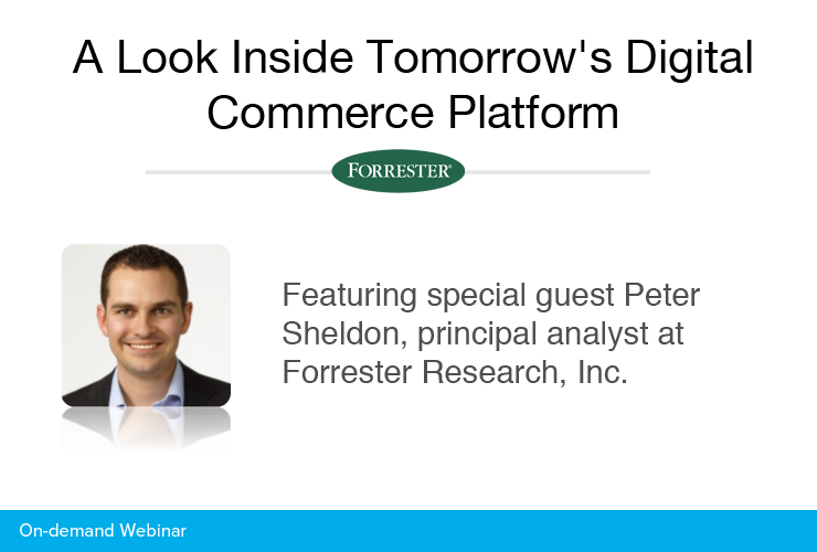 A Look Inside Tomorrow's Digital Commerce Platform