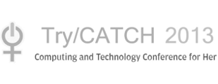 Grey Trycatch 2013 - Conference for Her logo