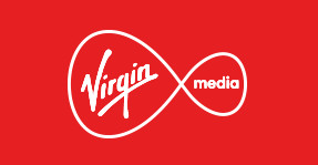 Virgin Media logo. Adobe commerce powered by Elastic Path is perfect for brands like Virgin Media.