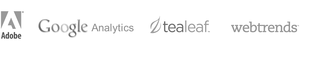 Ecommerce Analytics & Testing Software - Adobe, Google Analytics, Tealeaf, Webtrends