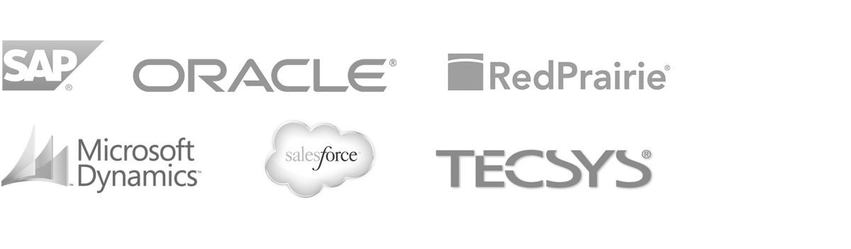 Ecommerce Enterprise Management - SAP, Oracle, RedPrairie, Microsoft Dynamics, SalesForce, Tecsys