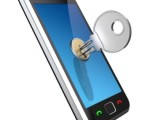 Key unlocking a mobile phone