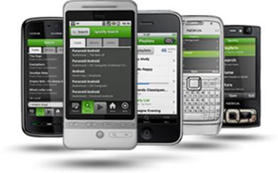 smart phone devices