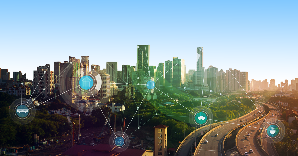 iot connected city image