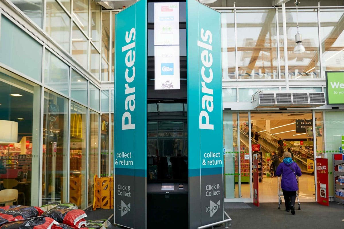 ASDA vending machine
