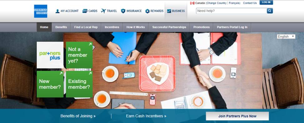 American Express Partners Plus_Get Elastic