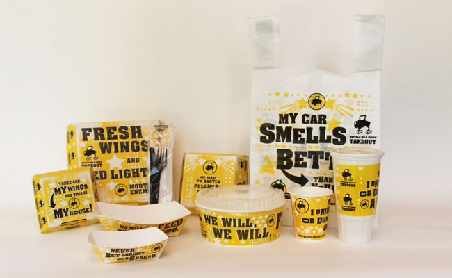 Buffalo Wild Wings_Let your food package spread your brand message_Get Elastic