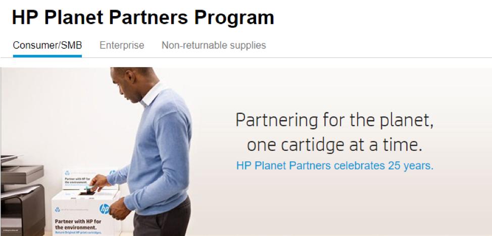 HP Planet Partners Rewards Program_Get Elastic