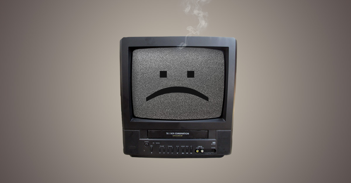 headless commerce tv vcr
