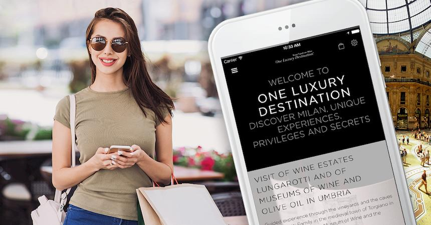 one luxury shopper