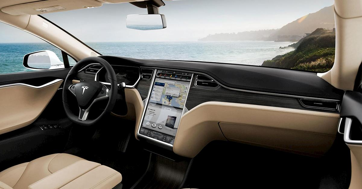 tesla car interior blog image