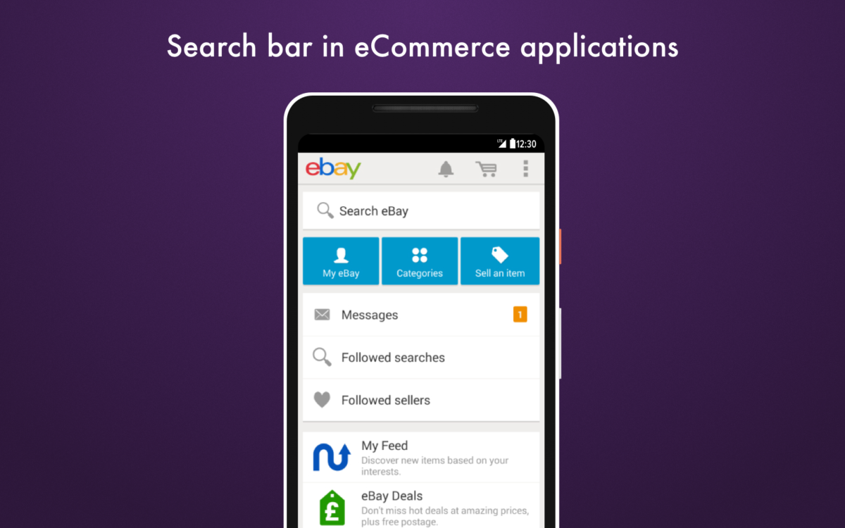 Search bar in ecommerce applications_Get Elastic