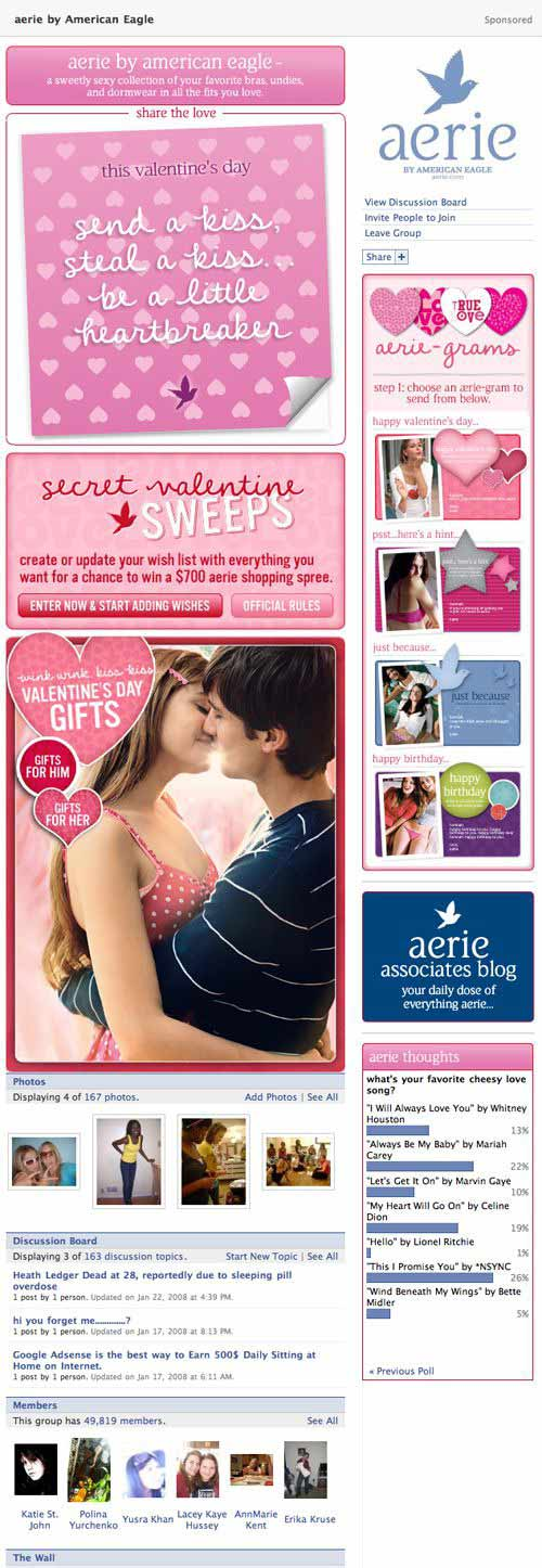 aerie sponsored group