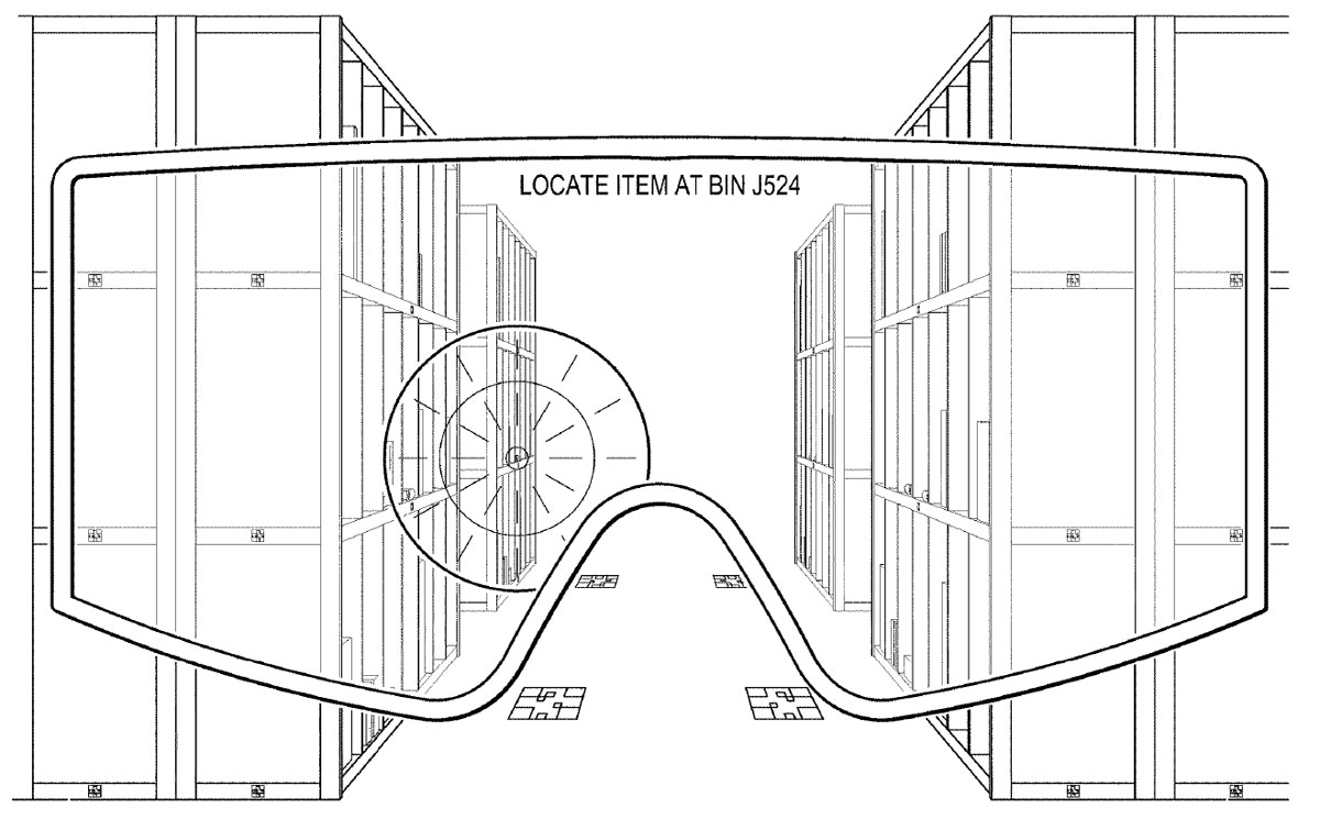 ar goggles amazon patent