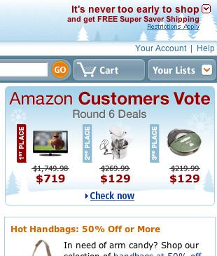 Amazon Cutoff Link
