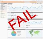 analytics fail