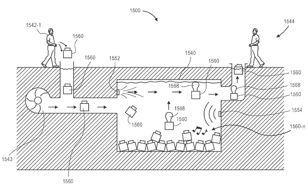 aquatic storage facility patent amazon