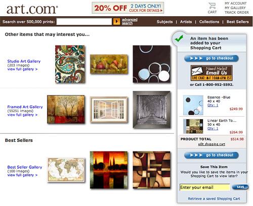 Art.com Example