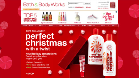 Ecommerce Holiday Web Design Gallery