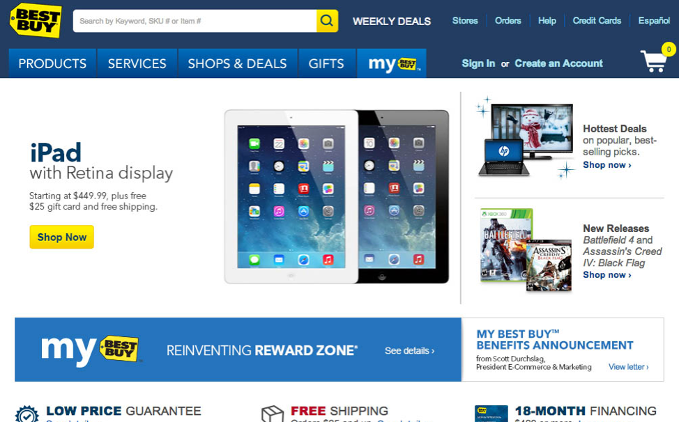 The 7 deadly sins of ecommerce UX_Best Buy_1_Get Elastic