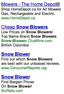 Home Depot Mowers