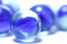 Little blue crystal balls
