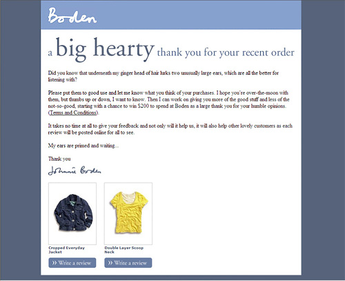 Boden Email