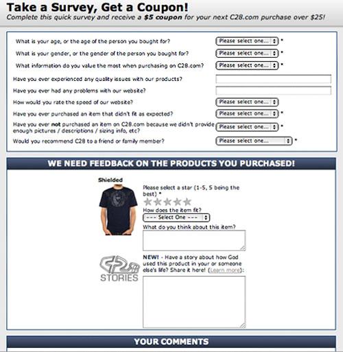 Triggered email asking for customer feedback spiritdancerdesigns Gallery