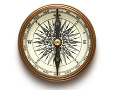 A golden compass