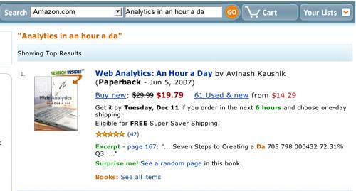 Amazon Search Pass
