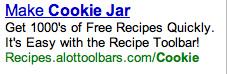 Cookie Jar ad