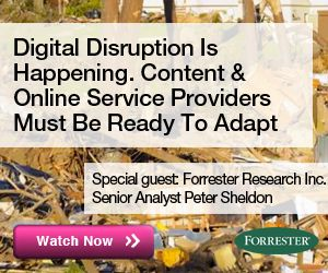 Digital Disruption is Happening