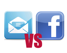 Email vs Facebook