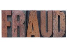 Fraud banner