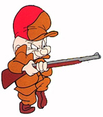 Elmer Fudd With Gun