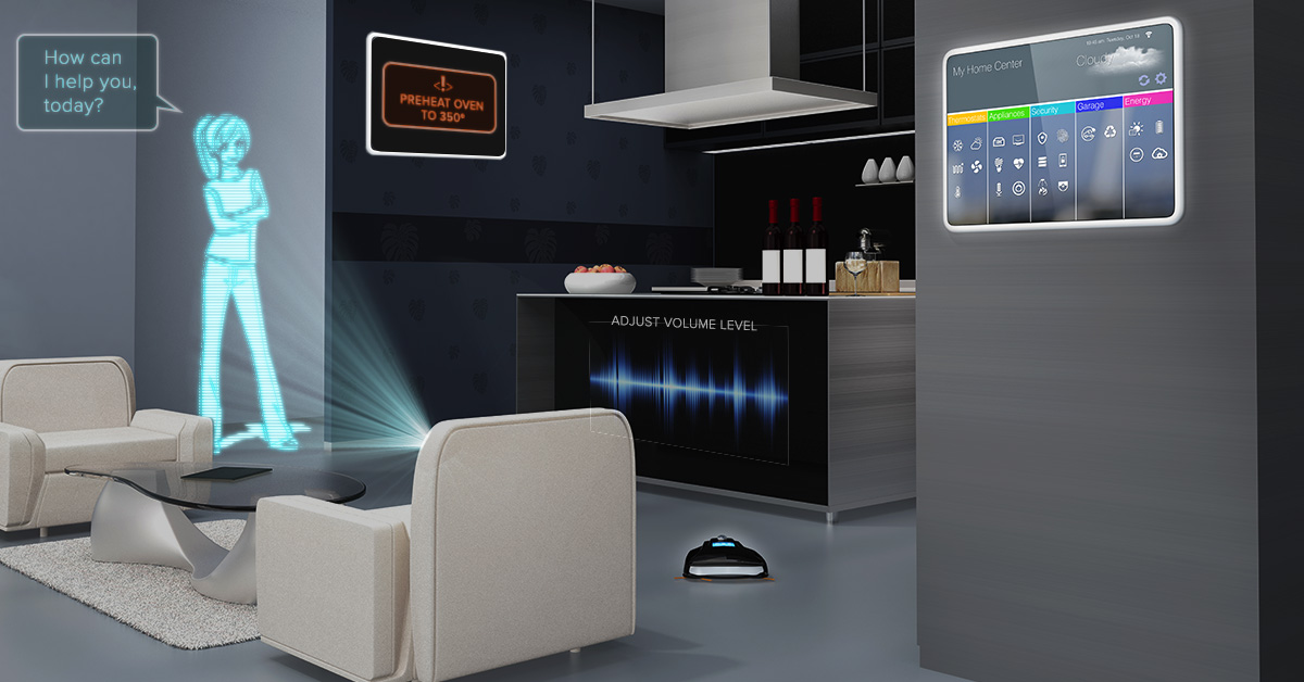 future home voice control