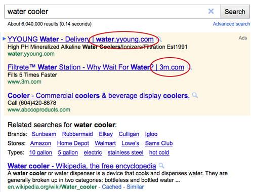 Get Elastic_Google Adwords' appended URLs