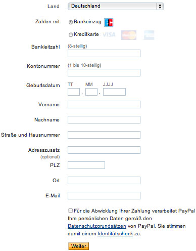 Form Design: 11 Patterns For Accepting User Input