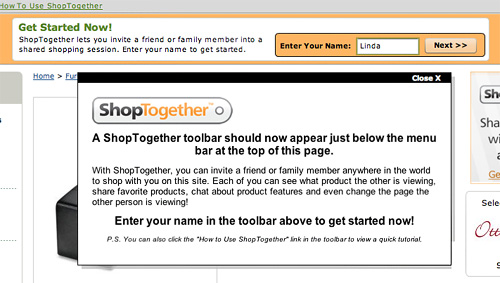 Getting Started with ShopTogether