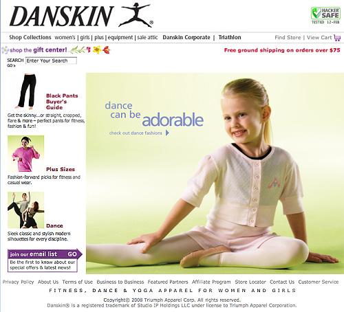 Girls Dancewear