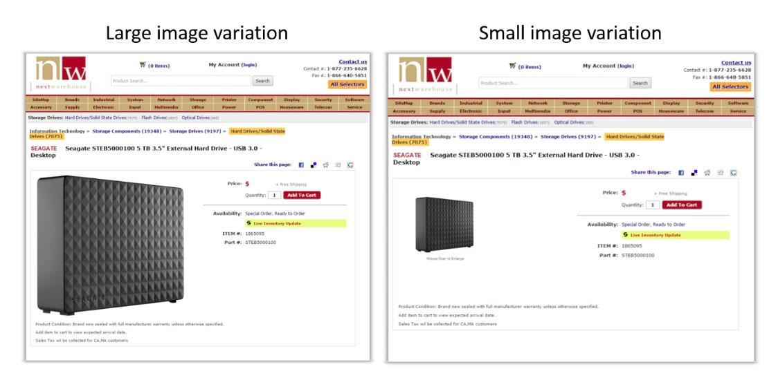 image size test