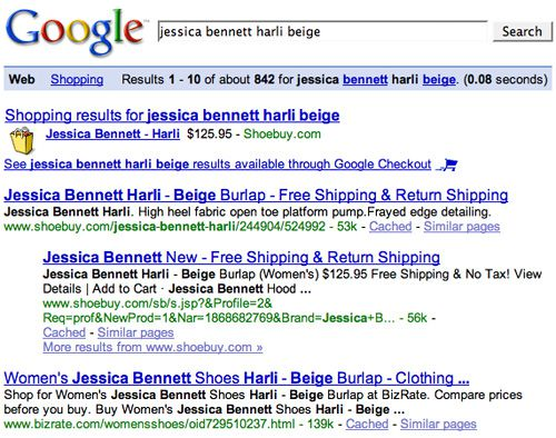 Harli Beige Search Results