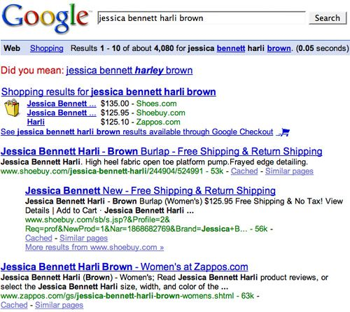Harli Brown Search Results