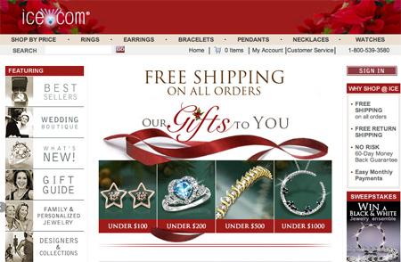 Ice.com Xmas Design