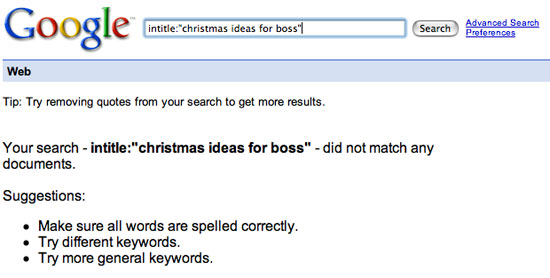 "Search results for ""idea for boss"""