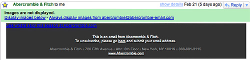 Abercrombie's Invisible Link