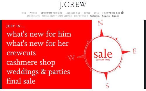 JCrew New Stuff and Sale