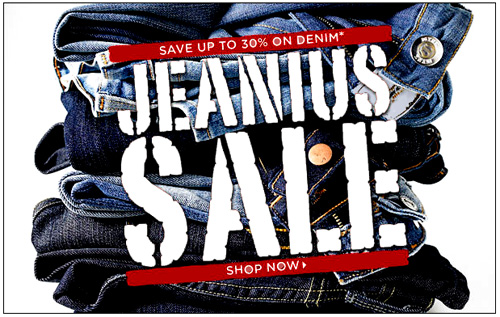 Jeanius Sale Revamp