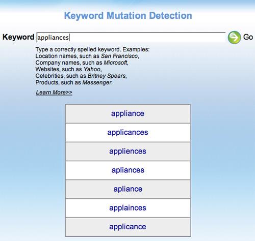 Keyword Mutation